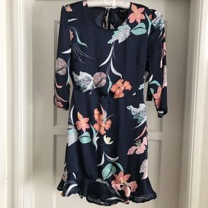 NWT Lulus's Floral Backless Dress